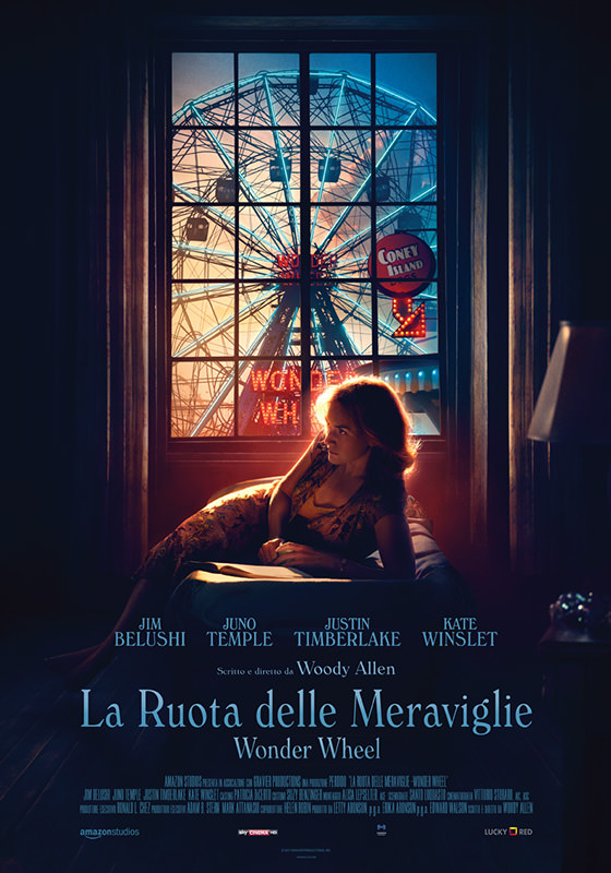 A dicembre sugli schermi italiani il nuovo capolavoro di Woody Allen: La Ruota Delle Meraviglie (Wonder Wheel) da luckyred