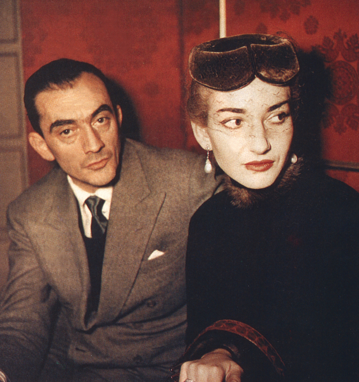 avec Visconti a La Scala 1954 Copyright Fonds de Dotation Maria Callas